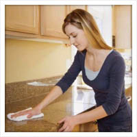 Homemade non-toxic cleaning supplies